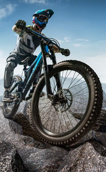 Le vélo tout terrain (VTT)